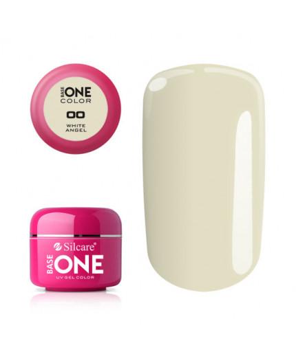 Silcare Base One Gel UV Color 00 - White Angel