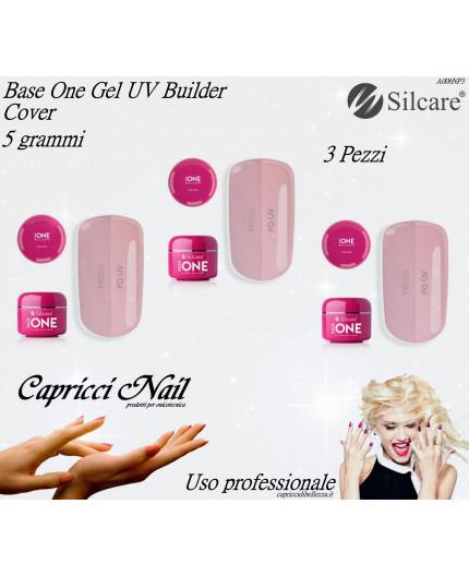 3X Base One Gel UV Cover 5 grammi - Silcare