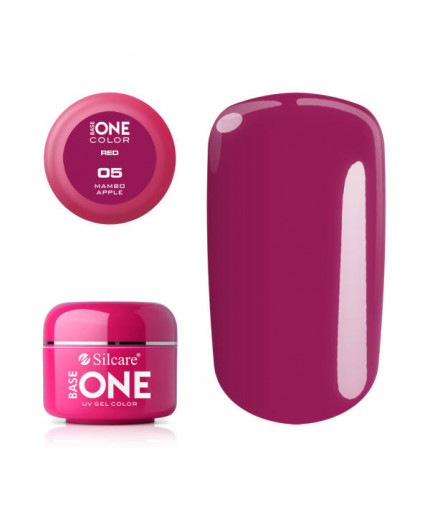 Silcare Base One Gel UV Red 05 - Mambo Apple
