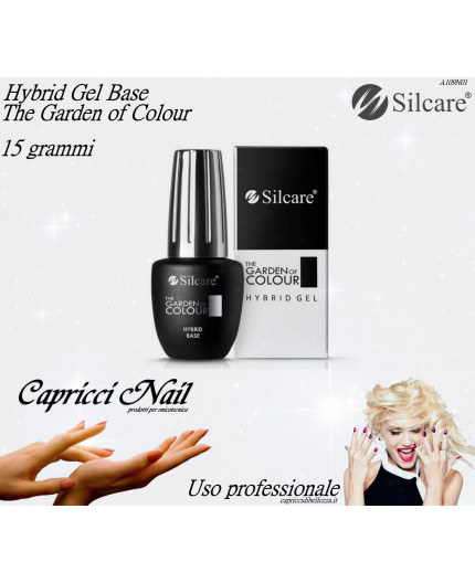 Hybrid Gel Base - The Garden of Colour 15 gr - Silcare