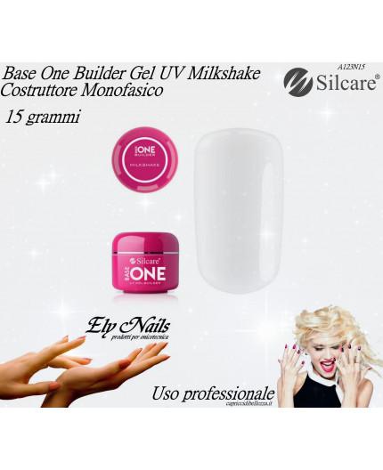 Base One Builder Gel UV Milkshake 15 grammi - Silcare