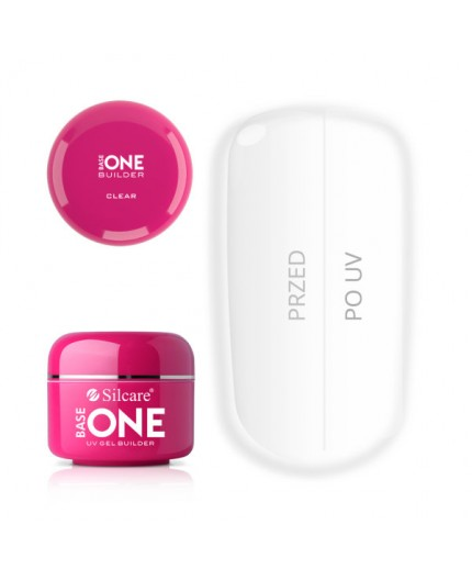 Base One Gel UV Clear 15 grammi - Silcare
