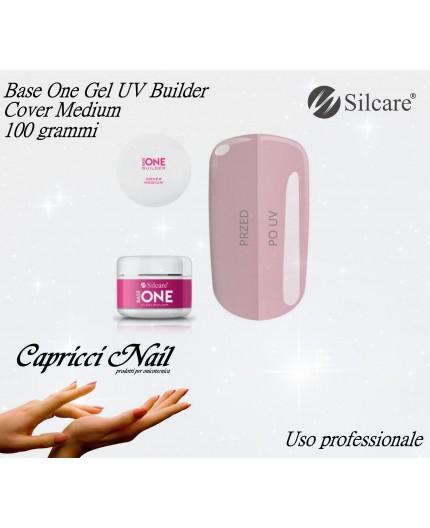 Base One Gel UV Cover Medium 100 grammi - Silcare