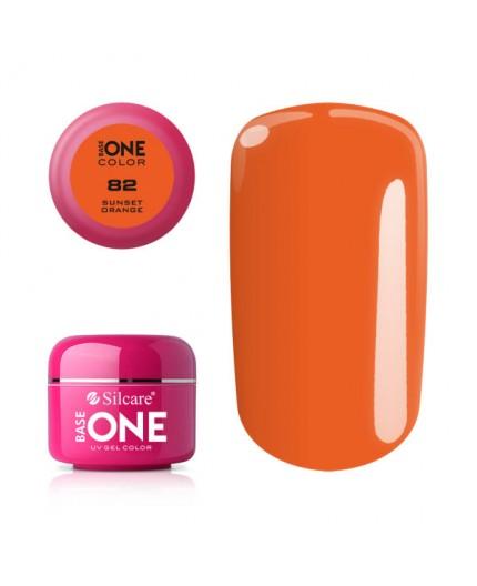 Base One Gel UV Color 82 - sunset orange